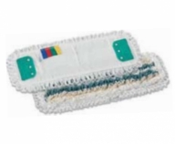 TTS WET SYSTEM MICROFIBRE-POL.-COTTON MOP HEAD CM40X13